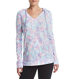 Exertek® Petites' High-Low Slub Hoodie