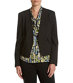 Nine West® Open Front Blazer