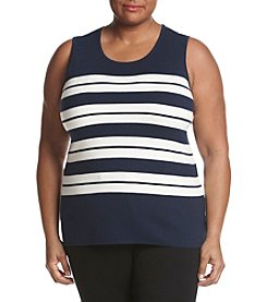 Kasper® Plus Size Sweater Shell