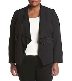 Kasper® Plus Size Flyaway Jacket