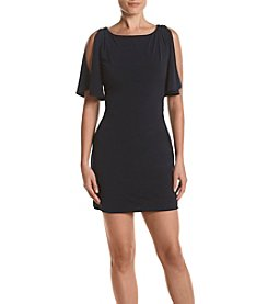 Jessica Simpson Split Sleeve Sheath Dress