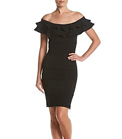 GUESS Lace Off-Shoulder Dress