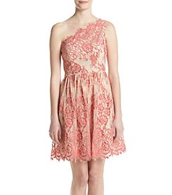Adrianna Papell® One-Shoulder Lace Dress