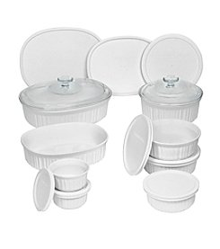 CorningWare® 18-Piece French White Set