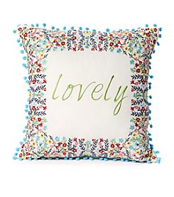 Jessica Simpson Lovely Decorative Pillow
