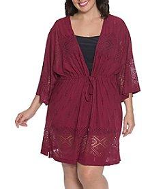 Dotti Plus Size Tunic Kimono