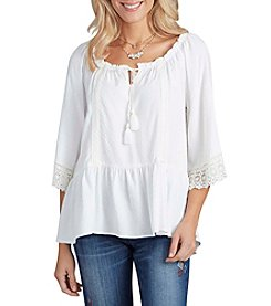 Democracy Bell Sleeve Peasant Top
