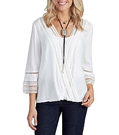 Democracy Bell Sleeve Blouse