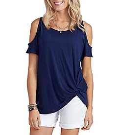 Democracy Cold Shoulder Top