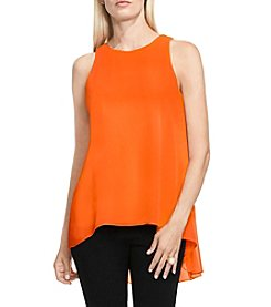 Vince Camuto® Blouse With Knit Underlay