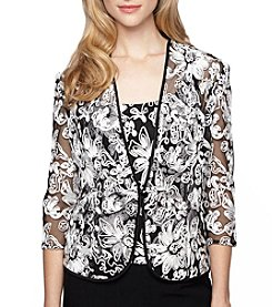 Alex Evenings® Embellished Twinset Top