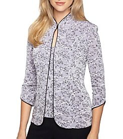 Alex Evenings® Mandarin Twinset Top