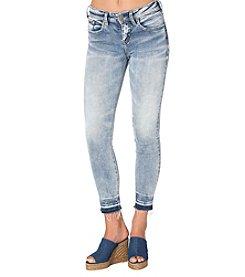 Silver Jeans Co. Avery Release Hem Skinny Jeans