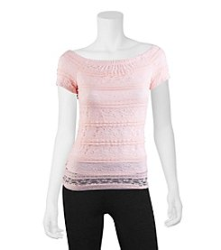 A. Byer Lace Tee