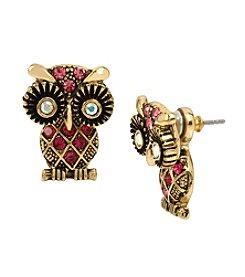 Betsey Johnson® Owl Ear Jacket