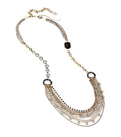Betsey Johnson® Layered Chain Long Necklace