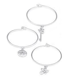 GUESS Trio Tension Bangle Set