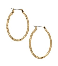Nine West Vintage America® Collection Hoop Earrings