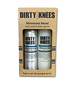 Dirty Knees Soap Co. Minnesota Wood Gift Set Lotion And Body Wash