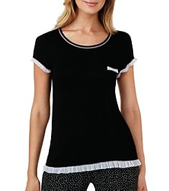 Layla® Short Sleeve Pajama Top