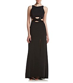 Emerald Sundae® Cutout Sequin Dress