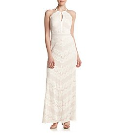 Morgan & Co.® Lace Gown