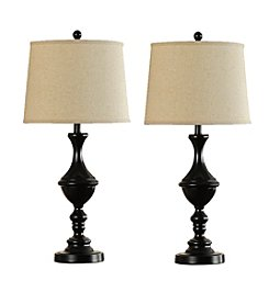 Catalina Lighting Trophy Pair Table Lamps