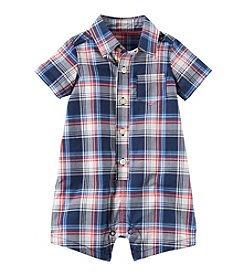 Carter's® Baby Boys' Plaid Woven Romper