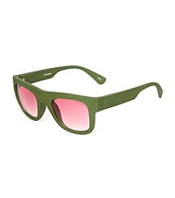 Steve Madden Perforated Square Sunglasses