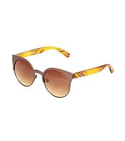 Steve Madden Round Metal Sunglasses