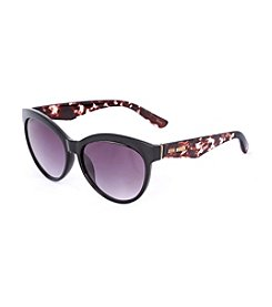Steve Madden Cateye With Tortoise Temple Sunglasses