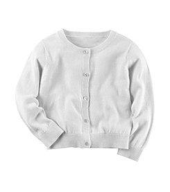 Carter's® Girls' 2T-6X Long Sleeve Cardigan