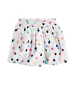 Carter's® Girls' 2T-8 Multi Polka-Dot Skort