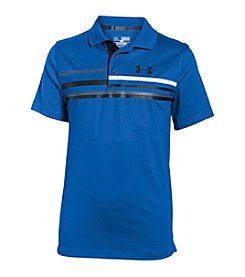 Under Armour® Boys' 8-20 Straight Flight Polo
