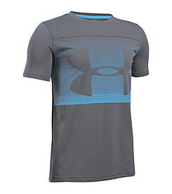 Under Armour® Boys' 8-20 Sun Block Short Sleeve Rashguard Top