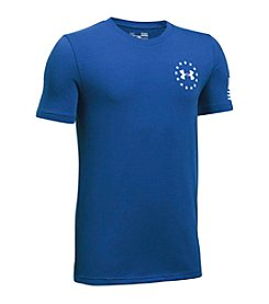 Under Armour® Boys' 8-20 Freedom Flag Short Sleeve Tee