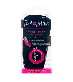 Foot Petals® Triple Play Inserts