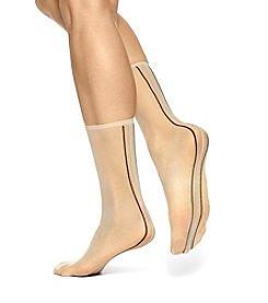 HUE® Simply Skinny  Back Seam Socks