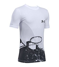 Under Armour® Boys' 8-20 Basketball Short Sleeve Tee