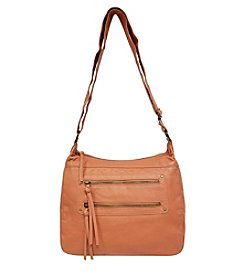 GAL 2 Zip Pocket Hobo Crossbody