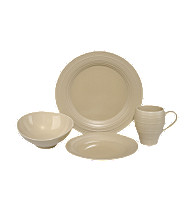 Mikasa® Swirl Tan 4-pc. Place Setting