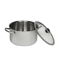 Revere® Stainless Steel 6.5-Quart Stock Pot with Lid
