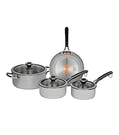 Revere® Stainless Steel 7-pc. Cookware Set