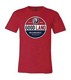 Brew City Brand Men's Good Land Milwaukee Circle Tee