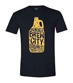Brew City Brand Men's Milwaukee Growler Tee