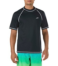 Speedo® Men's East Short Sleeve Swim Tee