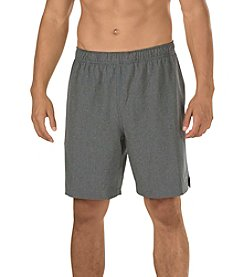 Speedo® Men's Heathered Tech Volley Shorts with HydroLiner