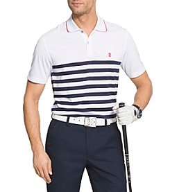 Izod® Colorblock Stripe Polo