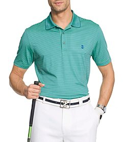 Izod® Men's Greenie Stripe Stretch Polo