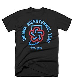 United State of Indiana Men's Indiana Bicentennial Tee